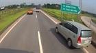 Phạt 17 triệu đồng nữ tài xế lùi xe trên cao tốc Hà Nội - Thái Nguyên