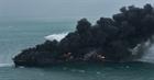 Tàu chở hàng bị cháy ngoài khơi Sri Lanka đang chìm dần