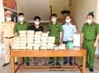 Bắt vụ vận chuyển hơn 31kg ma túy tổng hợp