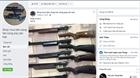 Nhức nhối thực trạng buôn bán vũ khí trên mạng