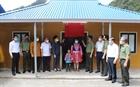 Bộ Công an phối hợp bàn giao nhà ở cho hộ nghèo tại 2 xã Hang Kia và Pà Cò