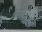 Chủ tịch Hồ Chí Minh tiếp nhà báo Inđônêxia, ngày 26/4/1965.