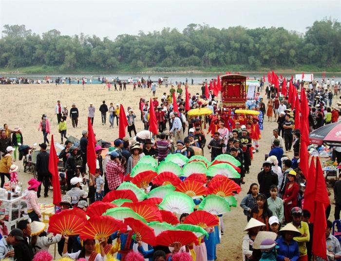 Đặc sắc lễ hội Bà Thu Bồn - antv